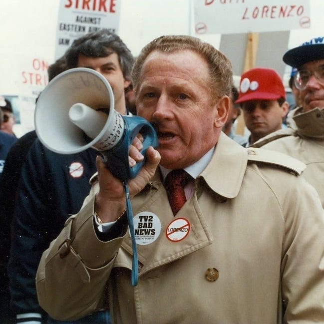 Scribner rose from paperboy to president of the Metro Detroit AFL-CIO