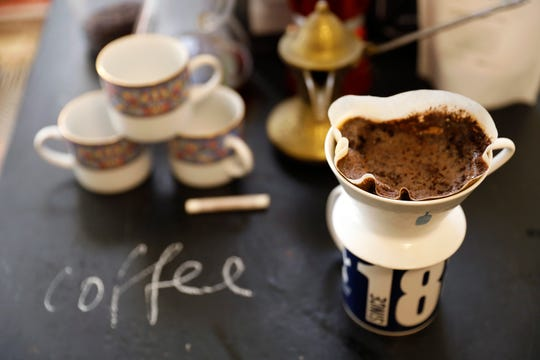Set up a coffee bar. Pancakes beg to be chased by coffee. (Christina House/Los Angeles Times/TNS)