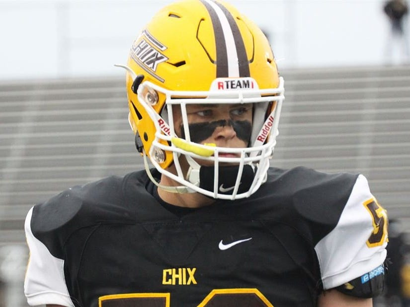 """12. Adam Berghorst, Zeeland East (Michigan State) — T/DE/6-7/245: Berghorst is an outstanding two-sport athlete and could play both baseball and football at MSU. He was a force as a two-way player his senior year at Zeeland East, getting in on 70 tackles from his defensive end spot, including 16 tackles for loss, to earn a spot on The News Dream Team. """"Adam was a dominant player for us all year on both sides of the ball,"""" coach Derek Pennington said. """"He is clearly one of the top linemen in the state of Michigan with offers from Michigan, Notre Dame and MSU."""""""