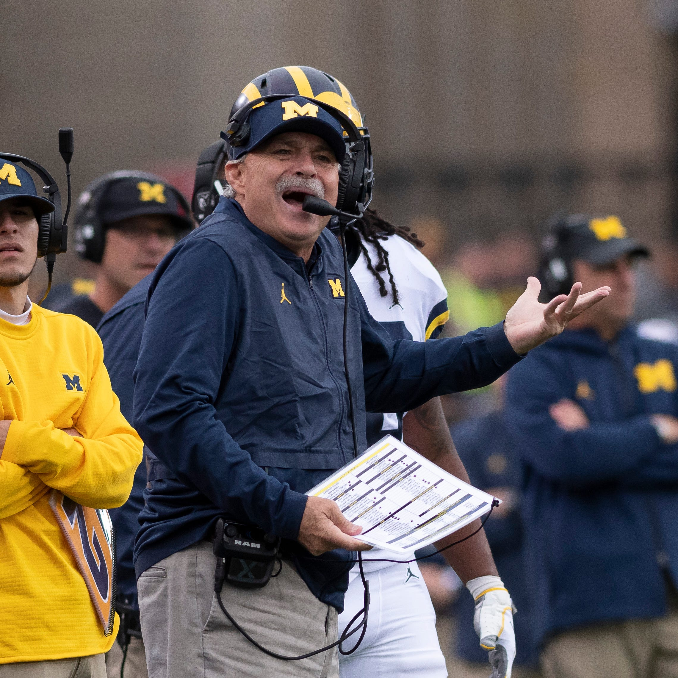 Report: Michigan's Don Brown interviews for Temple head-coaching job