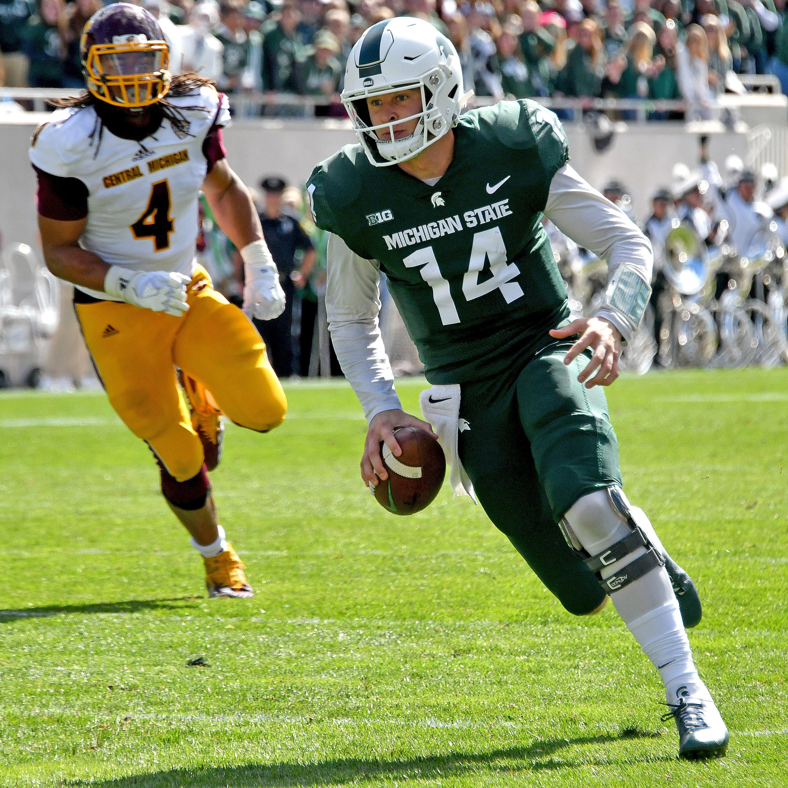Michigan State's offense getting its swagger back