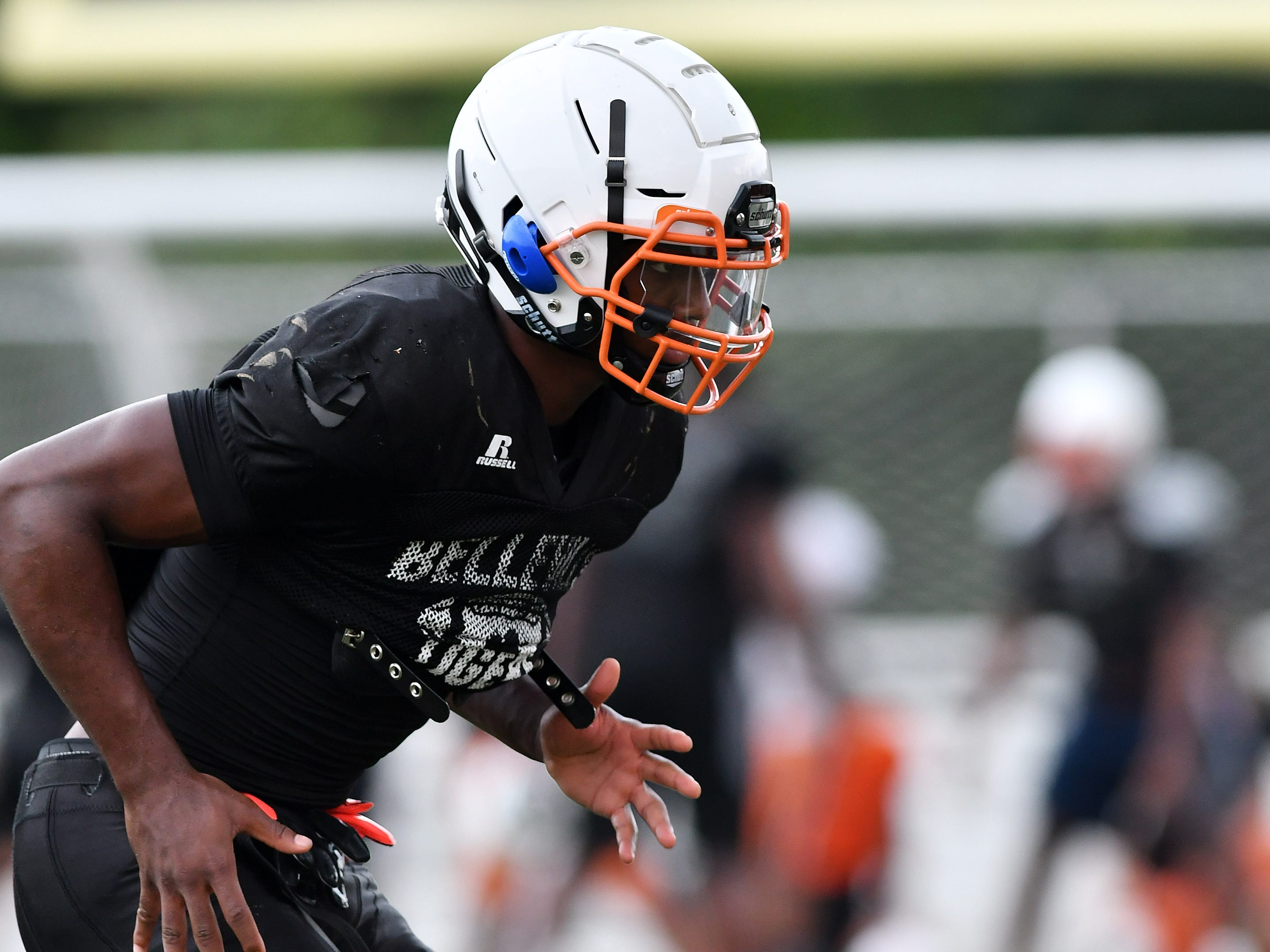 """3. Julian Barnett, Belleville (Michigan State) — WR/CB/6-2/189: Barnett showed his ability to be a playmaker on both sides of the ball, grabbing 22 passes for 400 yards and seven touchdowns while making 37 tackles and intercepting three passes on the defensive side of the ball to help Belleville earn its first regional championship in program history. He earned a spot on The News Dream Team and will be playing in the Under Armour All-American Game on Jan. 3 in Orlando. """"Julian Barnett on any other team would be a serious candidate for Mr. Football and this speaks to Julian's maturity,"""" coach Jermain Crowell said. """"Instead of worrying about his numbers, he's grown to be strictly concerned with his team's success."""""""