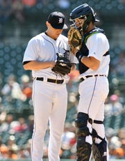 Tigers manager Ron Gardenhire says  Grayson Greiner (right) will be the team's No. 1 catcher.