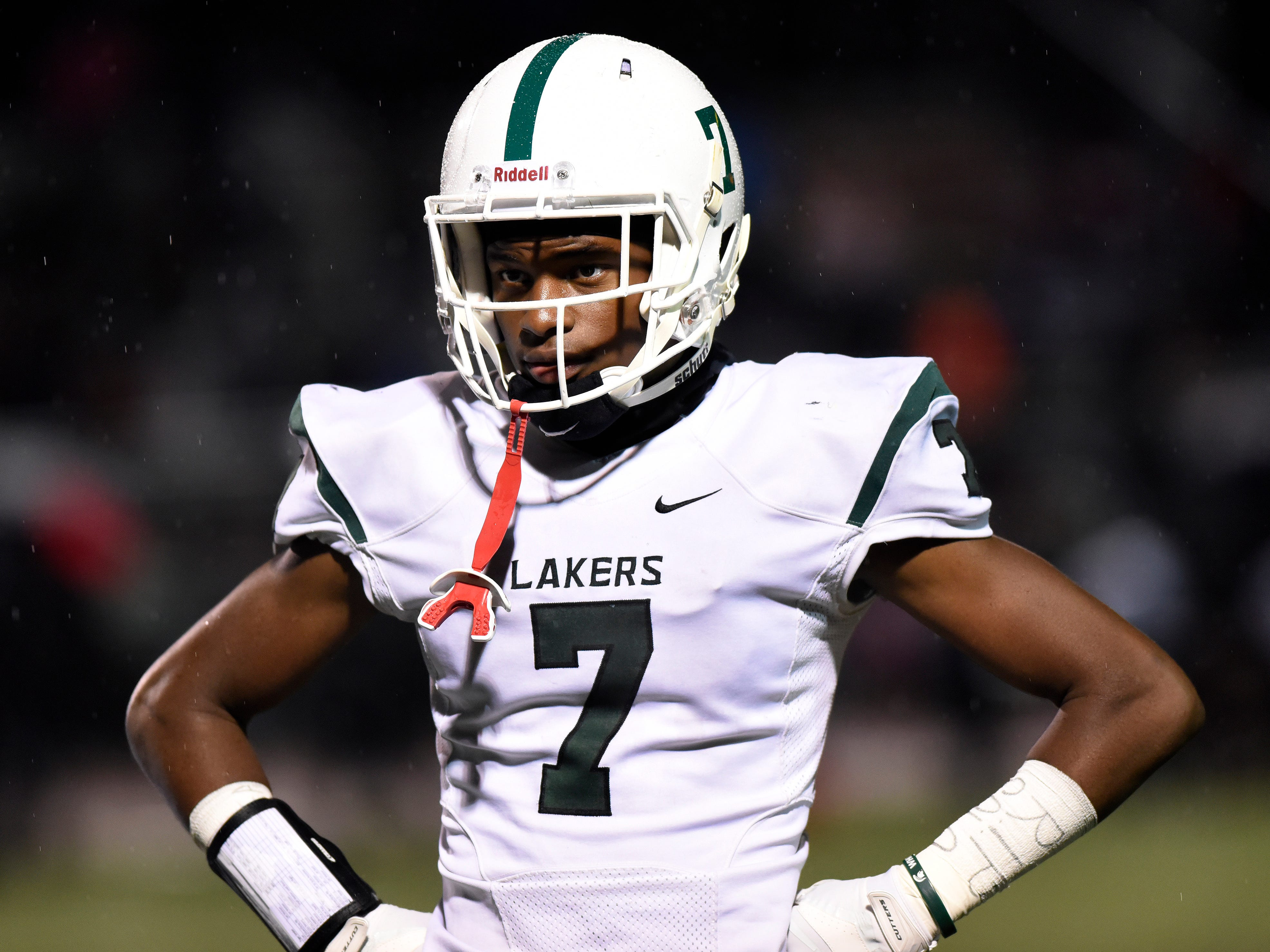 """10. Tre Mosley, West Bloomfield (Michigan State, early enroll) — WR/6-2/180: Mosley earned a spot on The News Dream Team. He was the big-play man for West Bloomfield, hauling in 45 passes for 1,000 yards and 10 touchdowns to help his team reach the regional championship game. """"Tre is one of the best receivers in the nation,"""" coach Ron Bellamy said. """"Tre has an unbelievable work ethic and competitiveness and is one of the best I've seen around."""""""