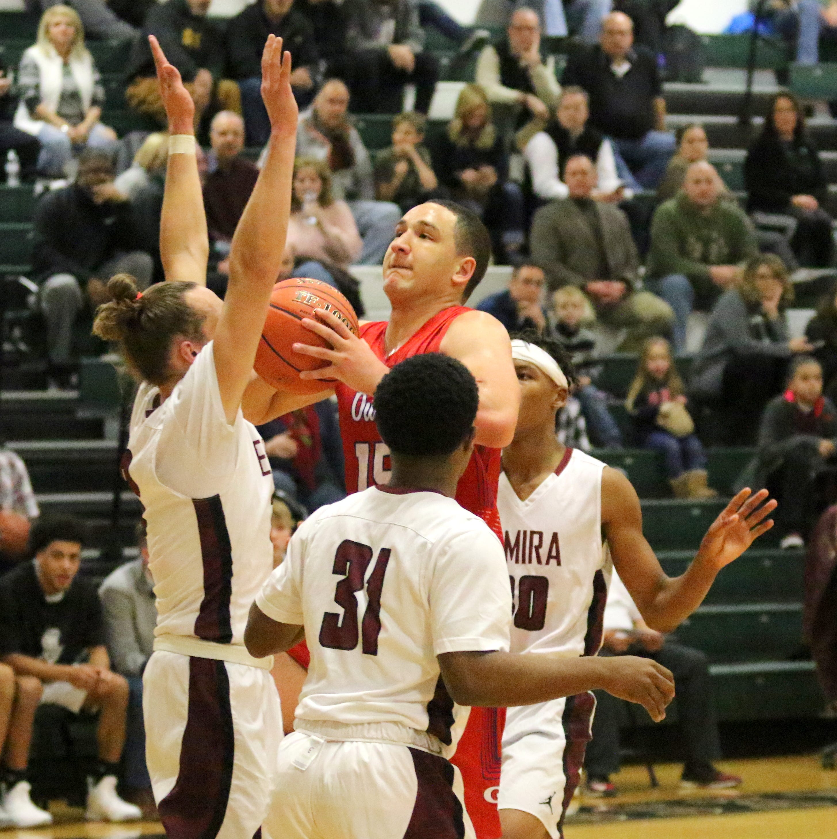 Elmira boys shut down unbeaten Owego in 60-38 victory