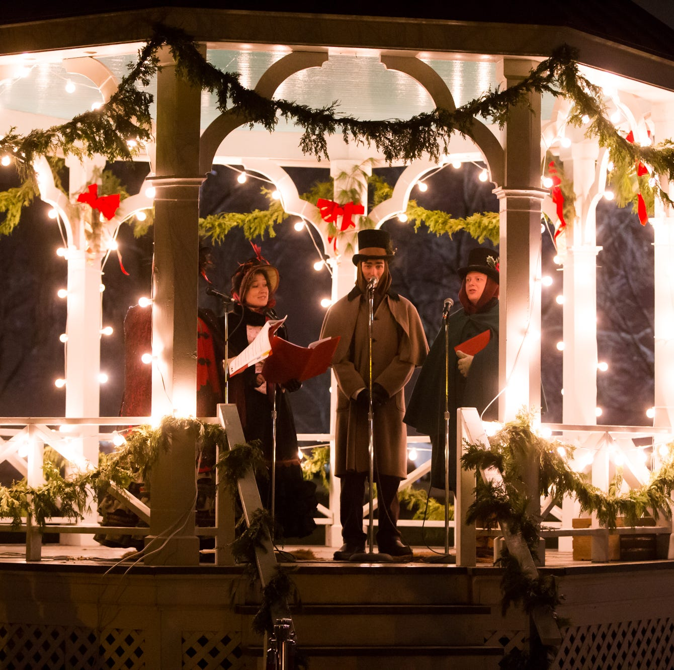 Greenfield Village takes visitors back to days of Christmas past with Holiday Nights