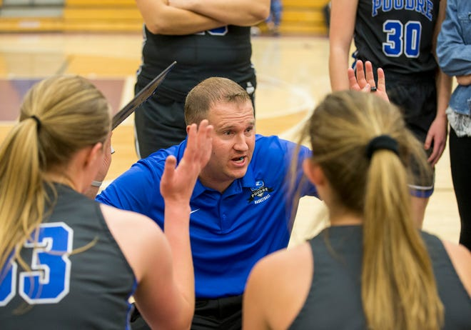 The Poudre girls basketball team plays at Fossil Ridge at 5:30 p.m. Friday. The boys teams play at 7 p.m.