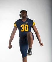 Quashon Fuller, Lehigh Senior High School, Football Defense, Fall All-Area Athletes