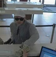 Southwest Florida Crime Stoppers is asking for the public's help tracking down an armed suspect who robbed a Lehigh Acres Wells Fargo branch Wednesday afternoon.