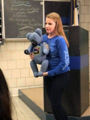 Megan O'Grady and her special bears are a finalist for Hero of the Year.
