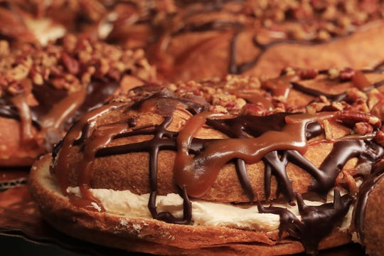 Turtle-inspired baked goods with caramel, chocolate and pecans are one of the signatures at Uncle Mike's Bake Shoppe.