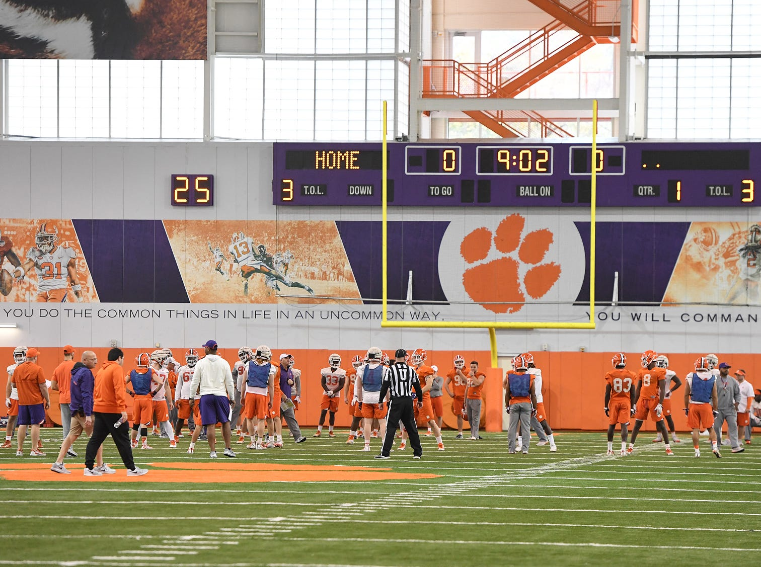 Clemson's Cotton Bowl practice on Wednesday, December 12, 2018.