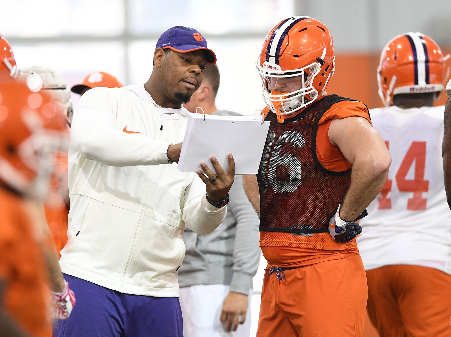 Clemson Cotton Bowl practice on Wednesday, December 12, 2018.