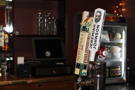 Beer on tap at the KellerGeist mini-bar