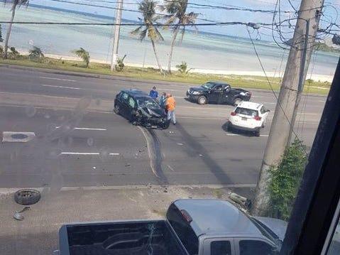 GPD: Woman in Wednesday's in auto-pole crash died, identified as Pauleta Munoz Paz