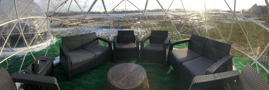 The igloos can be rented for $10 an hour and reservations can be made Thursday through Sunday by calling the winery at 317-763-0678. Urban Vines Winery and Brewery is at 303 E 161st St. in Westfield.