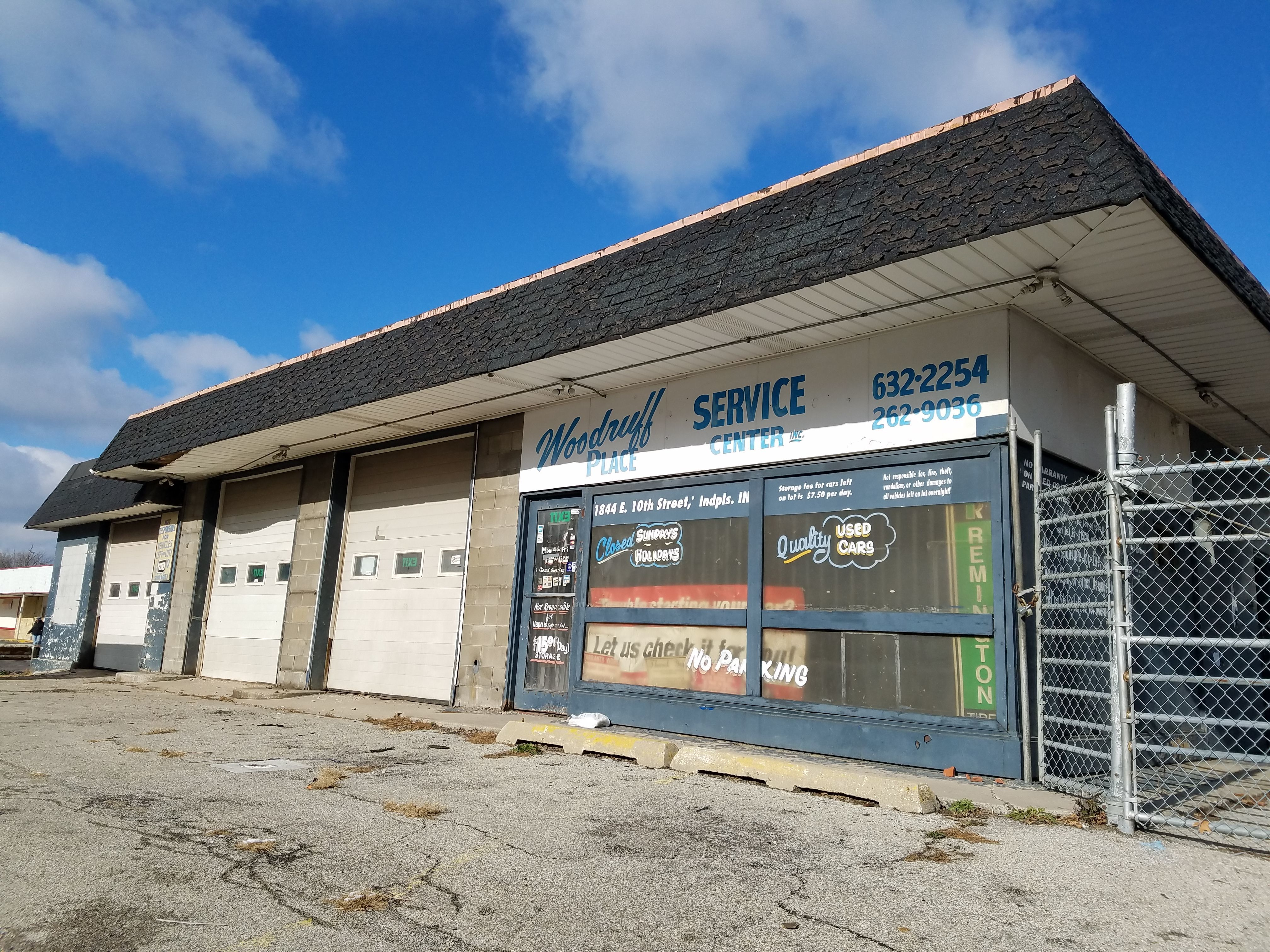 Chef Jonathan Brooks' Beholder restaurant, like his first restaurant Milktooth, is inside a former auto service center. The Beholder location is at the former Woodruff Place Service Center, 1844 E. 10th St.