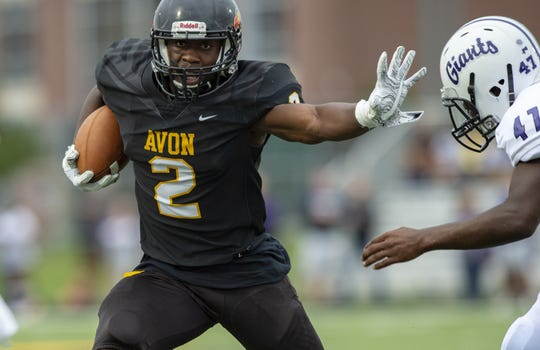 At the time of his commitment, Avon running back Sampson James was the highest-rated recruit to pick IU.