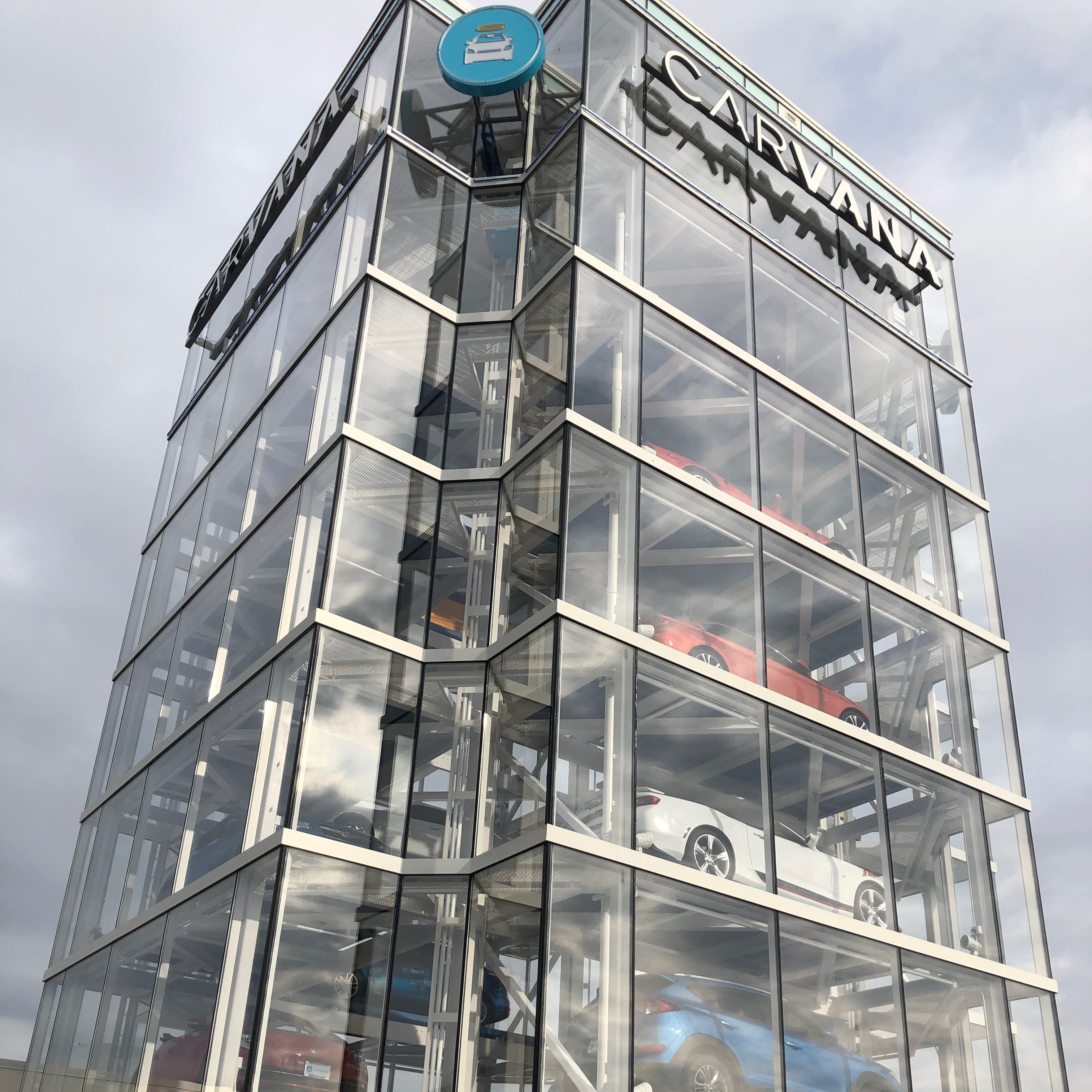A car vending machine opens today on Indianapolis' north side