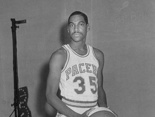 Roger Brown is an original member of the Indiana Pacers.
