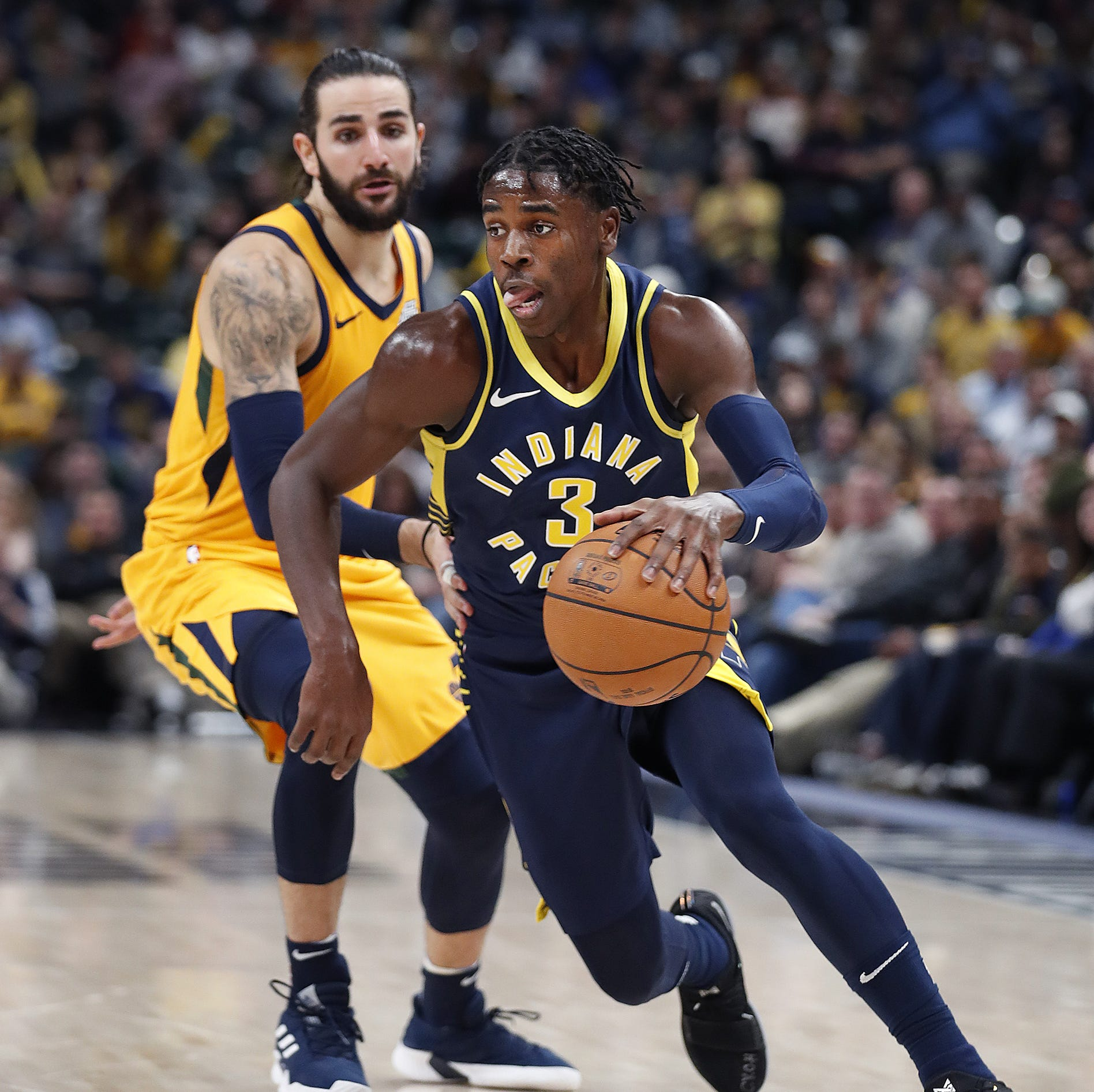 Though role about to be reduced, Aaron Holiday earned Pacers' trust