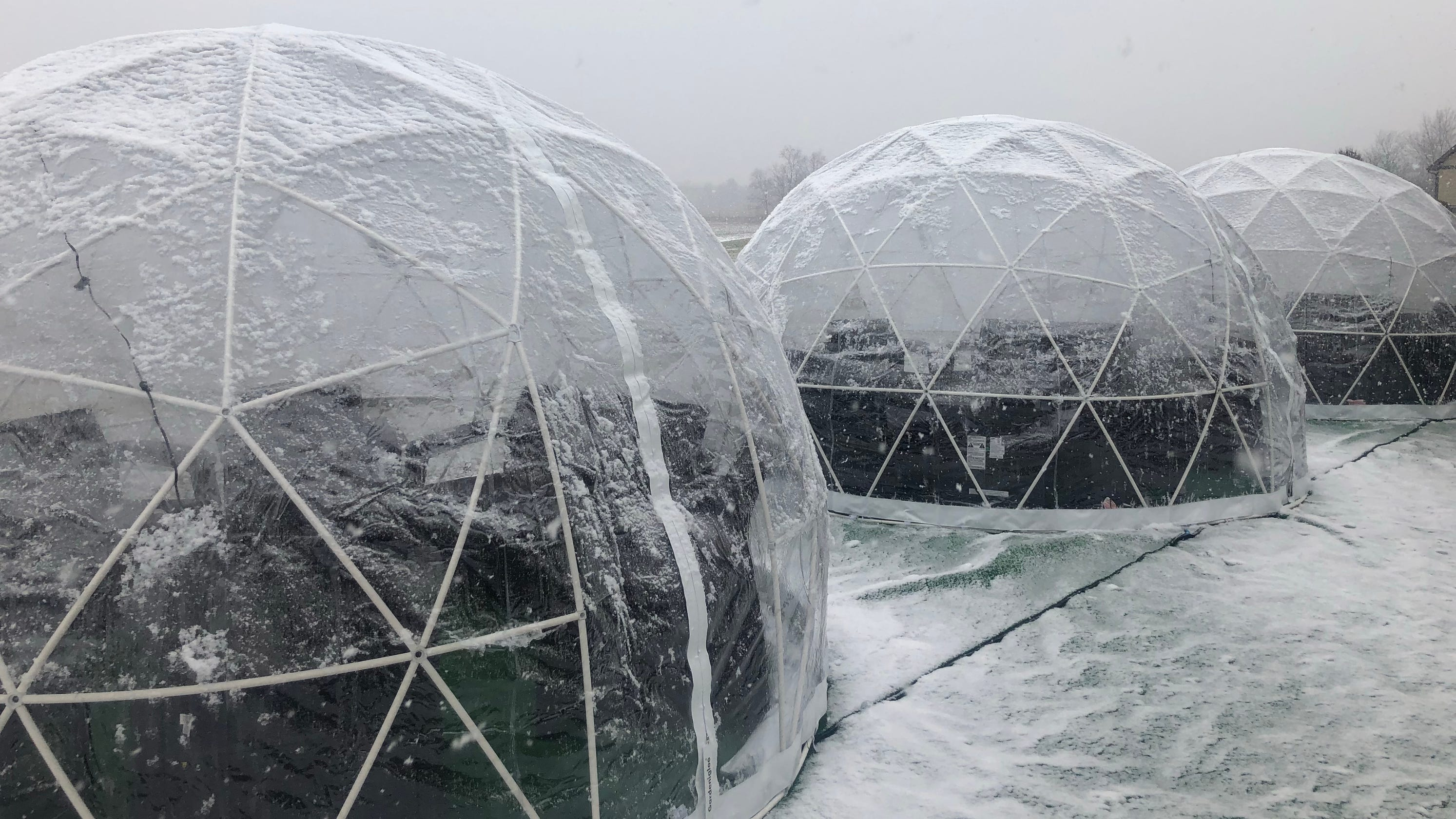 Urban Vines Winery in Westfield invites you into its igloo for wine