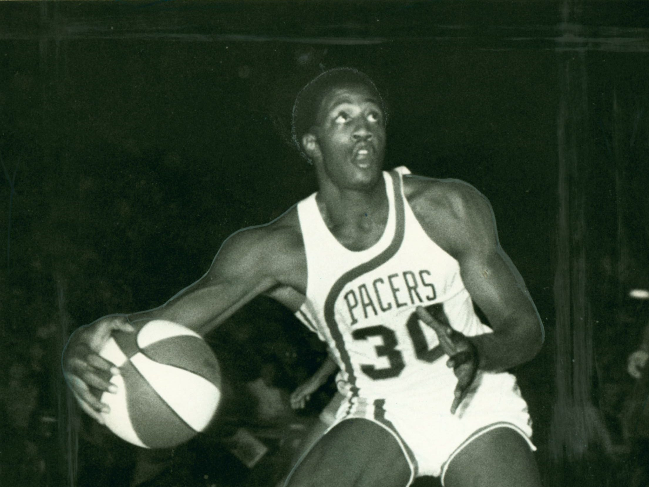George McGinnis played for the Pacers from 1971-75 and '79-82.