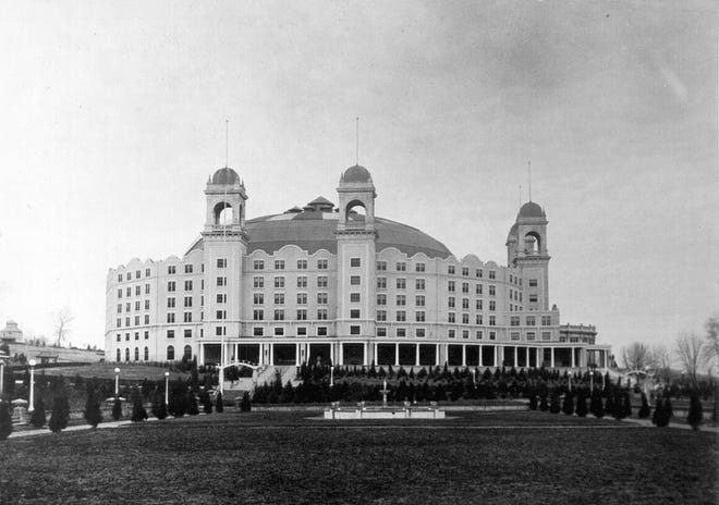 Undated photo of the West Baden Springs Hotel