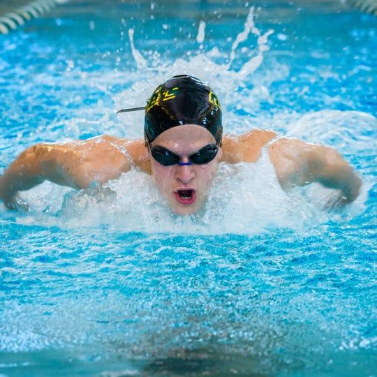Northridge swimmer Nicholas Dibley