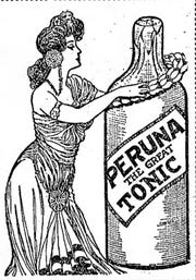 "With 28% alcohol, Peruna Tonic was known as ""Prohibition Tonic."""