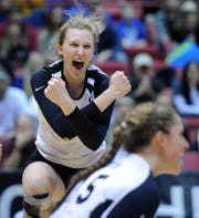 Beth Prince, a 6-3 outside hitter for Illini volleyball, played for Avon in high school.