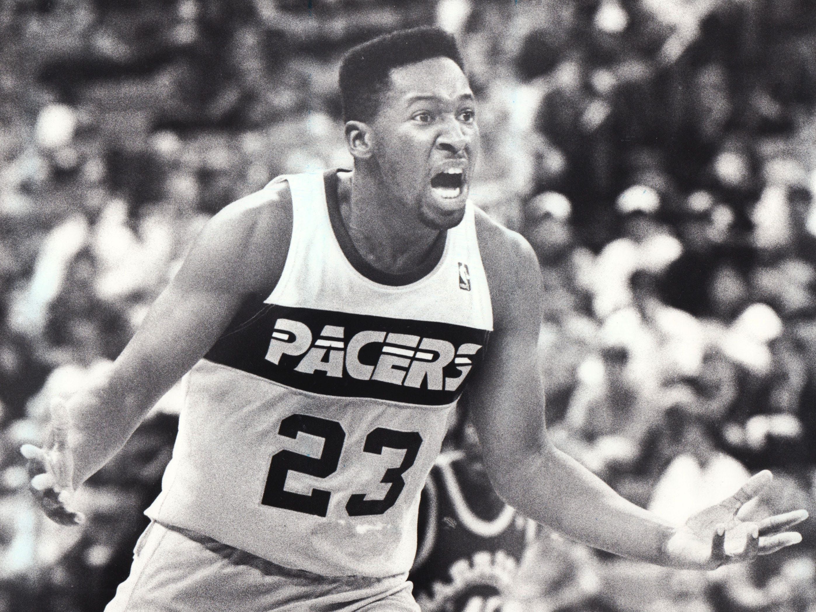 The Pacers drafted Wayman Tisdale in 1985,