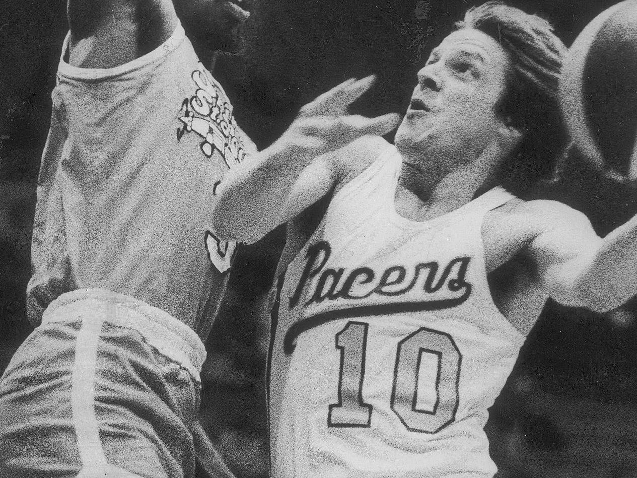 Don Buse played for the Pacers in two stints: 1972-77 and '80-82.