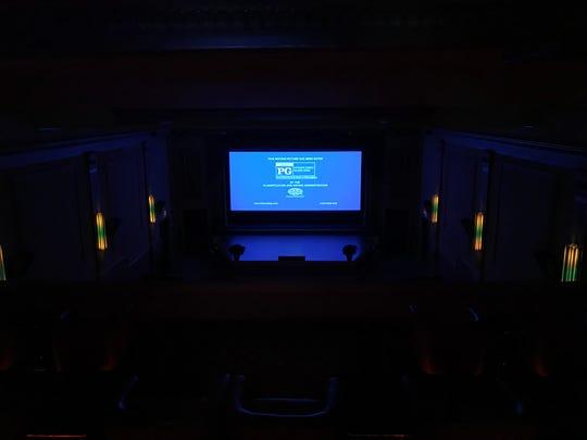 Inside the Luez Theatre's restoration in downtown Bolivar. The project is part of the Bolivar Downtown Development Corporation. Dec. 12, 2018.