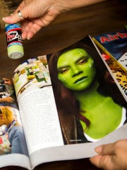 "Donna Nowak's makeup has been used in movies like ""Guardians of the Galaxy Vol. 2"" and ""Captain Marvel."""