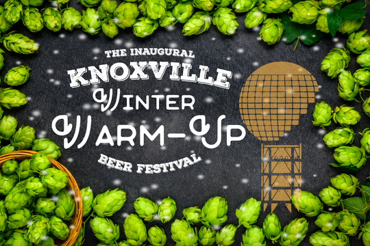 The inaugural Knoxville Winter Warm-Up Beer Festival will be held March 2 at the Emporium Center in downtown Knoxville.