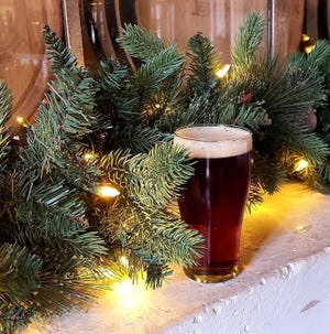 Bumbles Bounce is one of many Christmas or winter-themed beers being released by Knoxville breweries this holiday season.