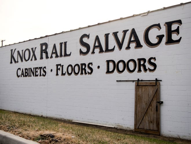 The outside of Knox Rail Salvage's new location at 4214 Greenway Drive in Knoxville.