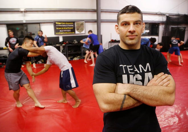 Carlos Soto, founder of Impact Zone Training Center, Tuesday, December 11, 2018, at 2781 Klondike Road in West Lafayette. Soto is a six-time gold medalist with Team USA Grappling. Soto teaches numerous other disciplines as well, including Brazilian Jiu Jitsu, mixed martial arts, judo, and kick boxing. He is also the strength and conditioning coach for West Lafayette football.