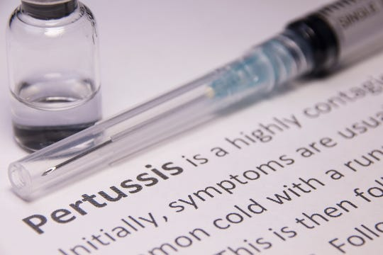 Pertussis (whooping cough) vaccine can prevent the respiratory virus, but five cases have been reported at one school and three other cases have been found in the community. The Tippecanoe County Health Department is investigating.