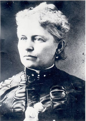 Helen Gougar, temperance and women's rights activist of the 19th century.