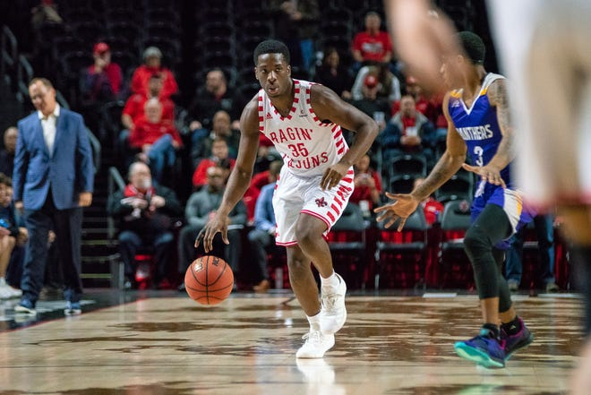 UL point guard Marcus Stroman has answered the challenge of coach Bob Marlin in recent games, including an 18-point, 11-assist double-double performance Tuesday.