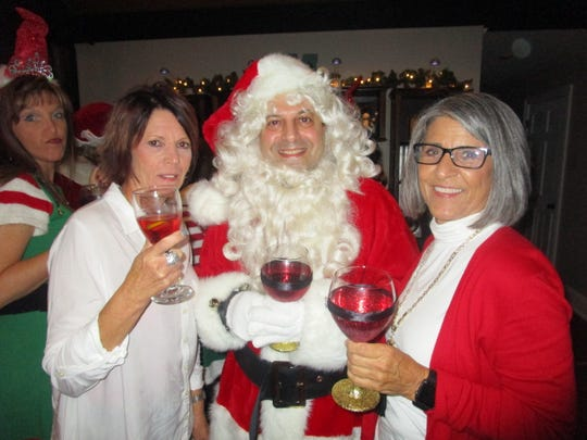 Arline Dake, Greg Saloom and Paula Goodman