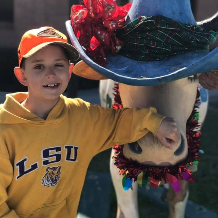 Boy fighting deadly brain cancer gets 14,000 Christmas cards