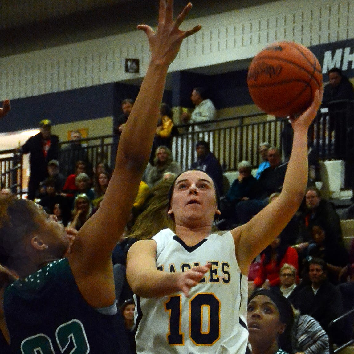 Hartland girls hope to benefit from basketball loss to Saginaw Heritage