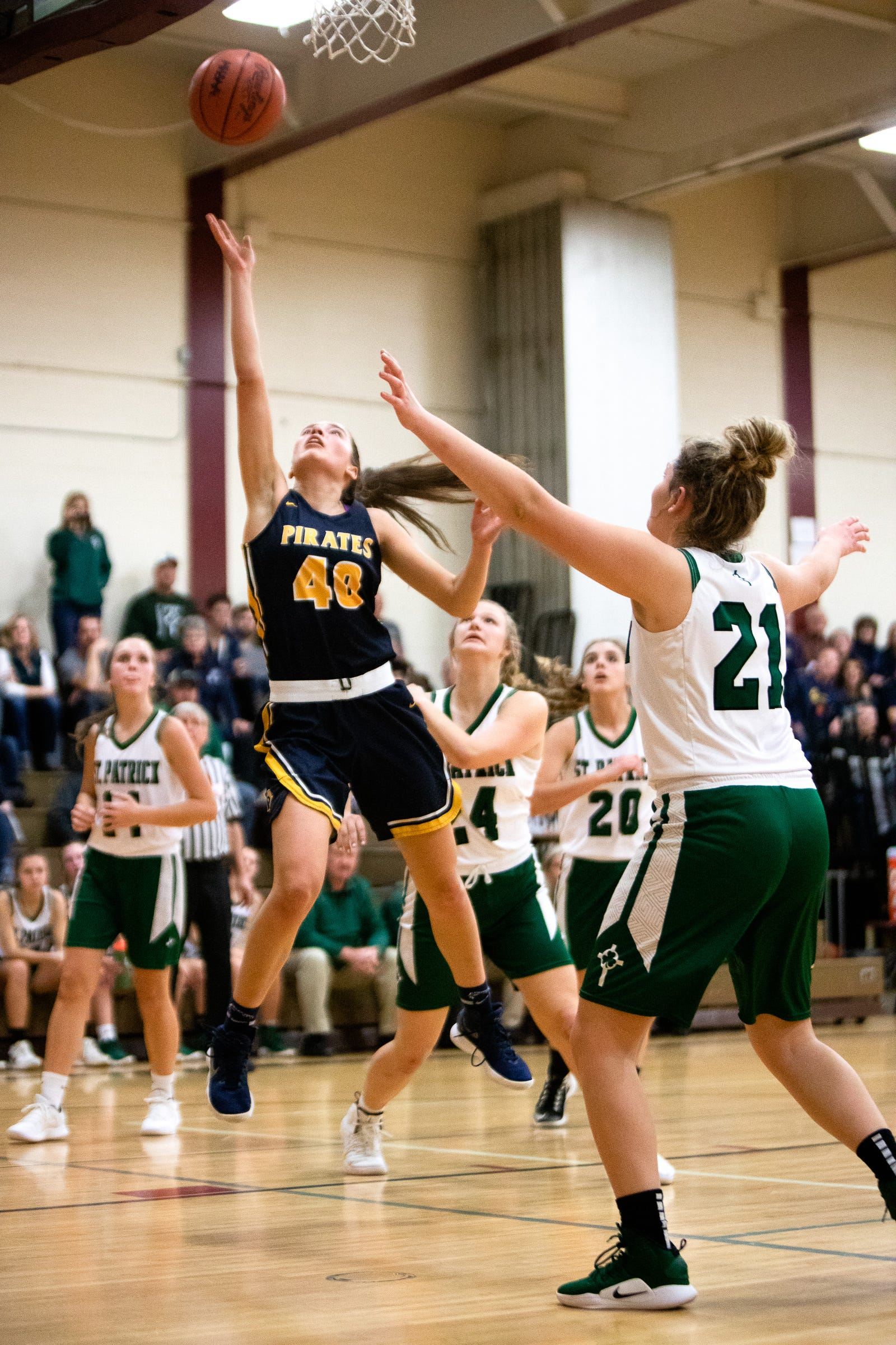 Pewamo-Westphalia junior Ellie Droste is one of the top scorers in the Lansing region. She committed recently to play basketball at Grand Valley State University after high school.
