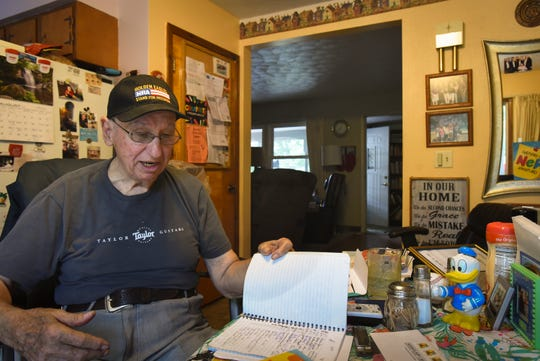 """""""I visit every day - I haven't missed one day,"""" Don West, 90, of Eaton Rapids said Wednesday, Aug. 29, 2018, about dealing with the absence of his wife Jackie, who has lived in a retirement home since her June 2017 stroke. """"I tell Jackie everything about my day, who it is I talked to, where I went - That's what she wants to know,"""" he says."""