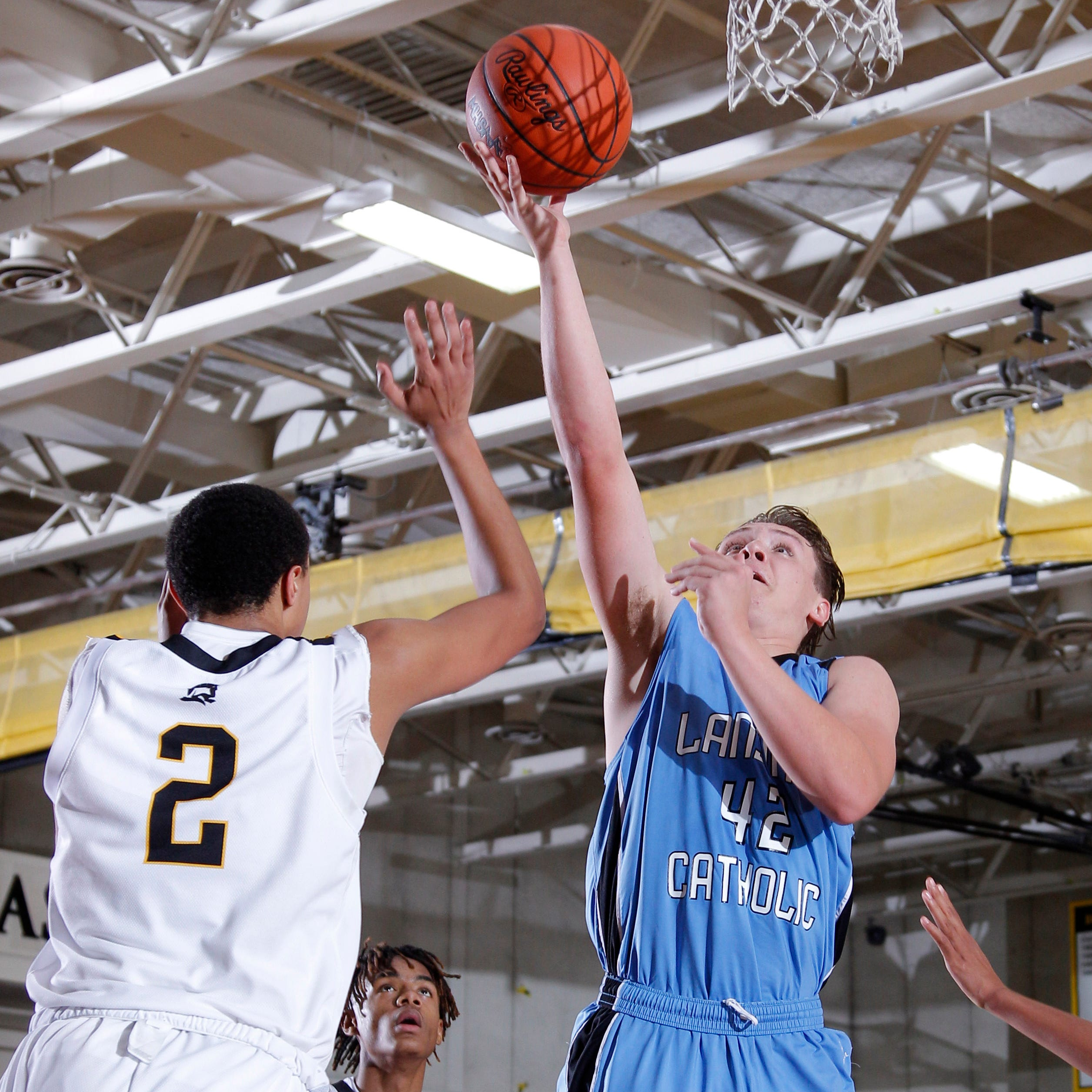 Low-key Charlie Nylander finding ways to make presence felt for Lansing Catholic