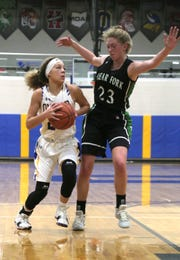 Clear Fork's Kali Weikle is up for Mansfield News Journal Female Athlete of the Week with games of 13, 14 and 14 points to help the Lady Colts go 2-1 last week.