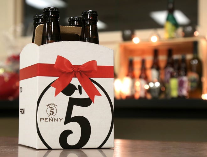 5 Penny Hard Cider makes a variety of flavors at their distillery in Ontario.